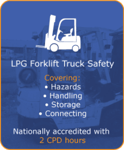 lpg fork lift truck safety training