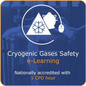 Cryogenic gases safety e-Learning