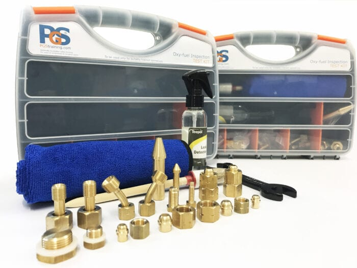 Test kit for annual inspection