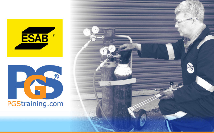 CP7 Gas Equipment Inspector courses in partnership with ESAB