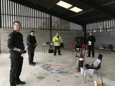 Socially Distanced Practical Training Best
